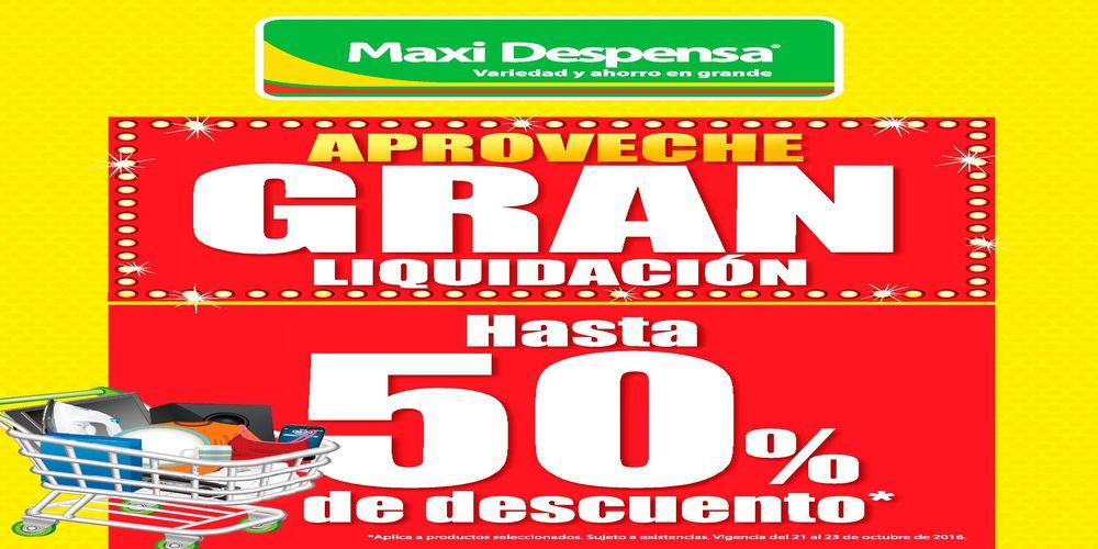 Viernes de Liquidaciones y Descuentos de SUPERMERCADOS (21-oct-16)