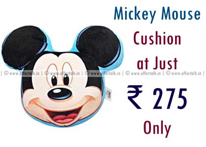 Mickey Mouse Shaped Cushion Just ₹ 275 Only  discount 2
