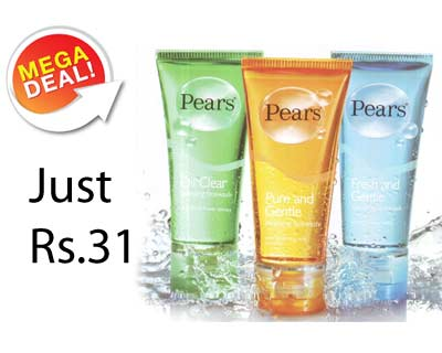 Tradus Mega Deal   Pears Facewash at Just Rs.31 Only personal care