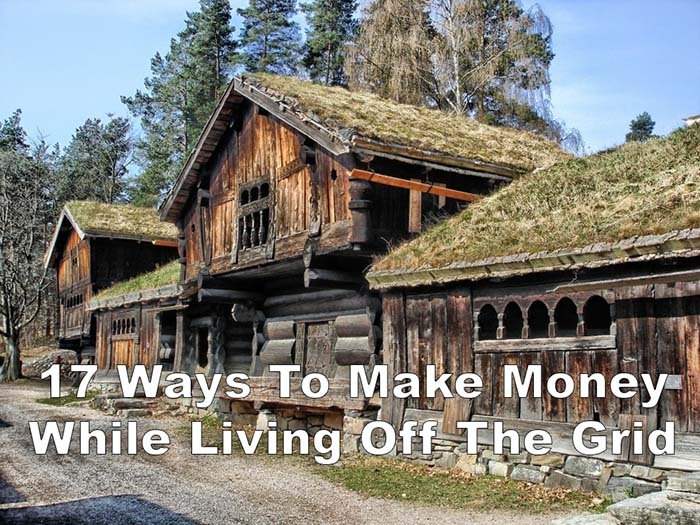 17 Real Ways To Make Money While Living Off Grid