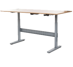 Fine Adjustable Height Desk Ikea Geekdesk Seems To Be The Intended Ideas