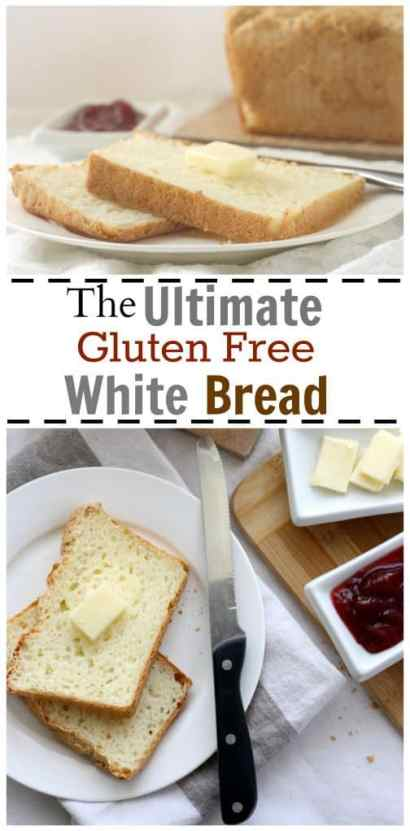 The Ultimate Gluten Free White Bread - Officially Gluten Free