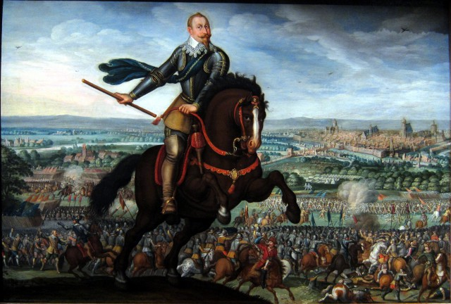 Thirty Years' War: The victory of Gustavus Adolphus at the Battle of Breitenfeld (1631).