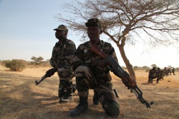 Soldiers from the Nigerien Army train during Exercise Flintlock 2014 (Photo: U.S. Africa Command).