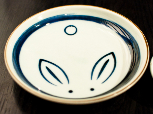 Bunny plate
