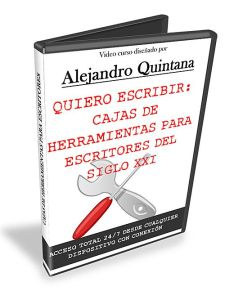 Carátula DVD Curso Quiero Escribir 3d_blanco