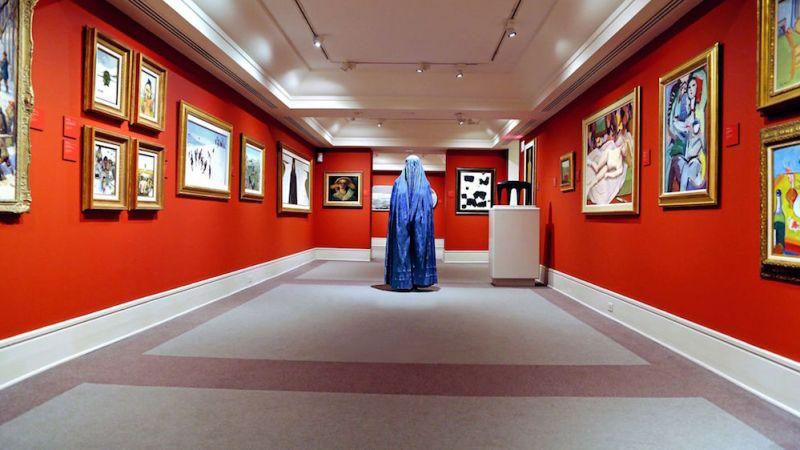 Gallery of Nudes. Hangama Amiri