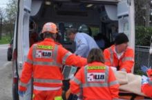 Giovane di 28 anni grave per un incidente a Boscomarengo
