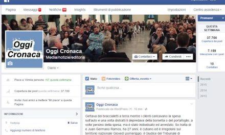 La nostra pagina Facebook ha raggiunto 10mila Like proprio mentre compie 5 anni