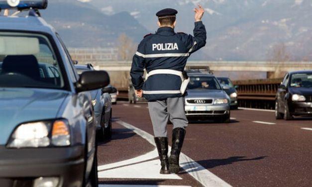 La Polizia controlla l'abitato di Serravalle Scrivia