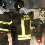 Ancora un cassonetto a  fuoco in Alessandria