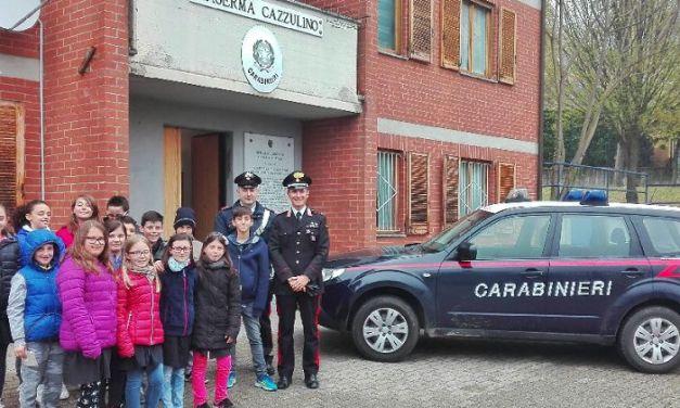 Vignale, gli alunni della Primaria in visita alla caserma dei Carabinieri