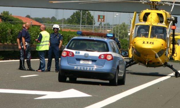 Tamponamento sull' A/21 a Pontecurone muore donna di 84 anni, quattro feriti