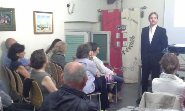 Serata memorabile a Serravalle per la conclusione dell'Inferno di Dante in Biblioteca