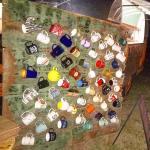 Awesome coffee mug display at sunrisewedding knoxvilledj  jennieandrews