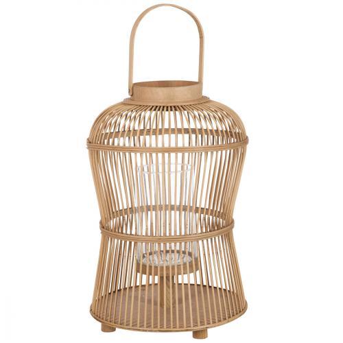 Mariage location lanterne bois