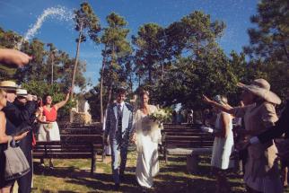 Mariage religieux plein air Corse (1)