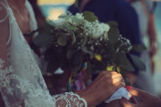 Mariage religieux plein air Corse (2)