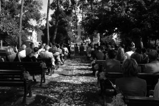 Mariage religieux plein air Corse (3)
