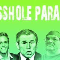 asshole parade on cotton