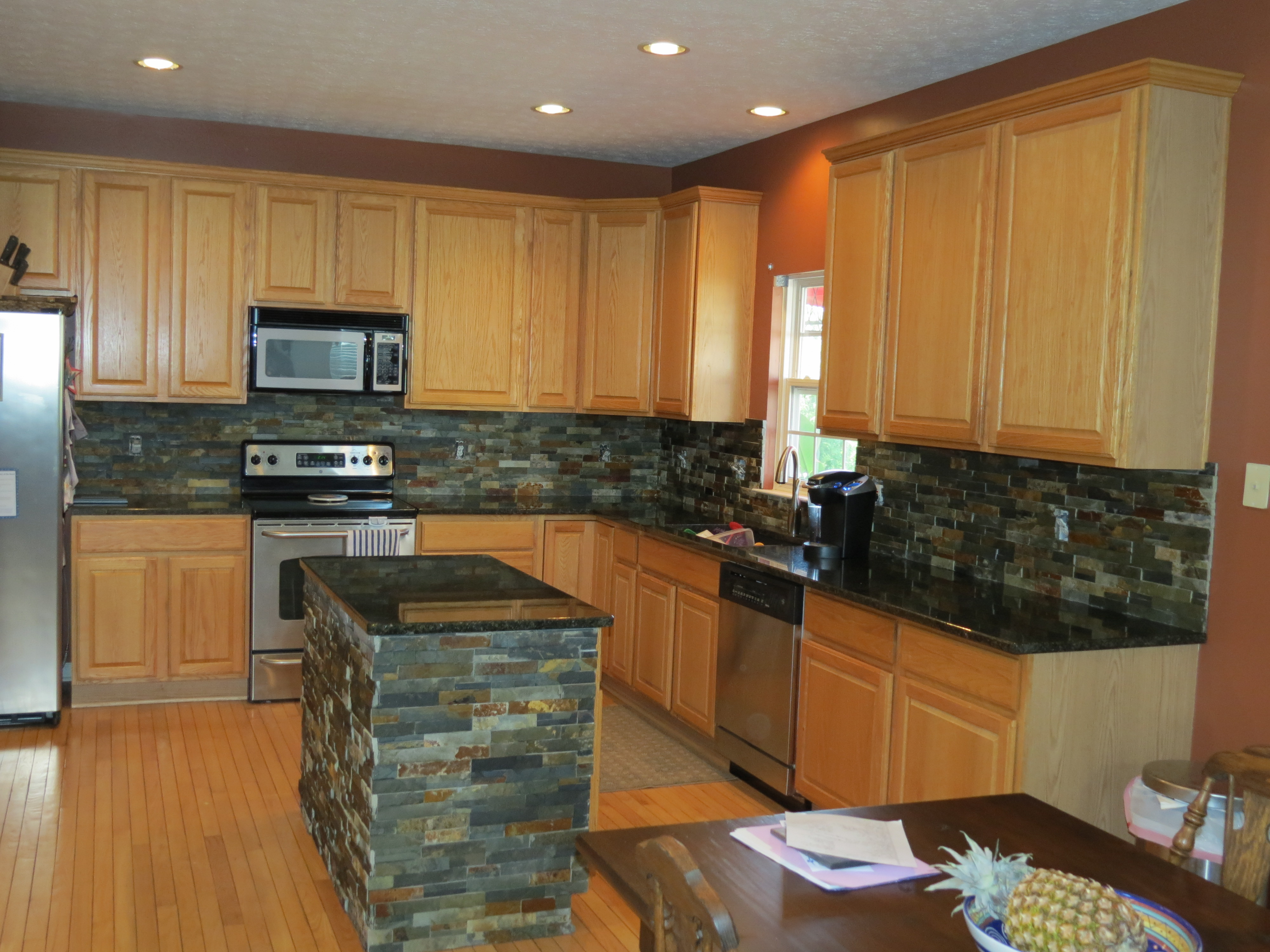 how to install kitchen backsplash install kitchen island The glamorous How to install kitchen backsplash renewing picture