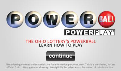 Powerball :: The Ohio Lottery