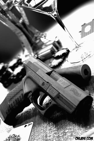 Gun iPhone Wallpaper | #3082 | ohLays
