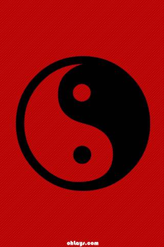 Yin Yang iPhone Wallpaper | #358 | ohLays