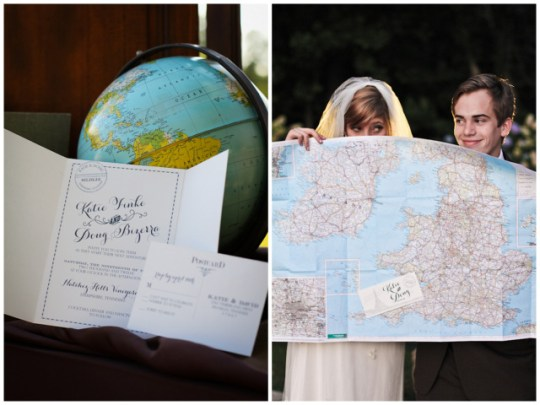 old world travel wedding shoot
