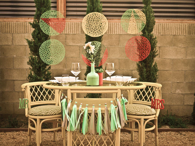 modern palm springs wedding shoot   Something Events
