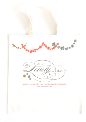 oh lovely day tote bag | favorite things giveaway