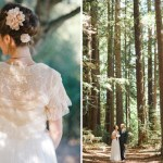 Vintage Redwood Wedding by Erin Leigh