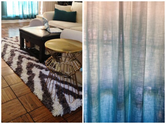 tips for updating your living space: change your window treatments