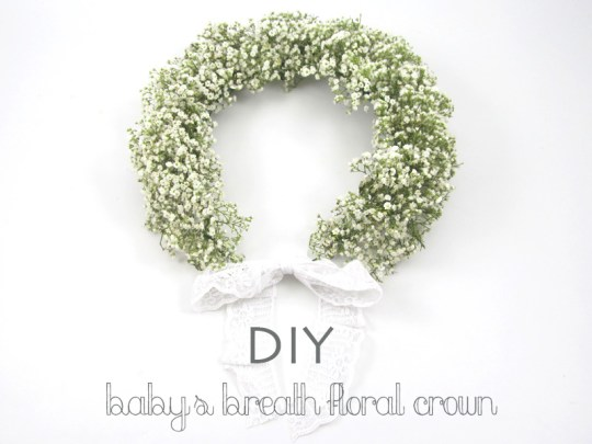 DIY floral crown by BloomsByTheBox on Oh Lovely Day