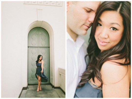 engagement at griffith observatory | wai reyes photography