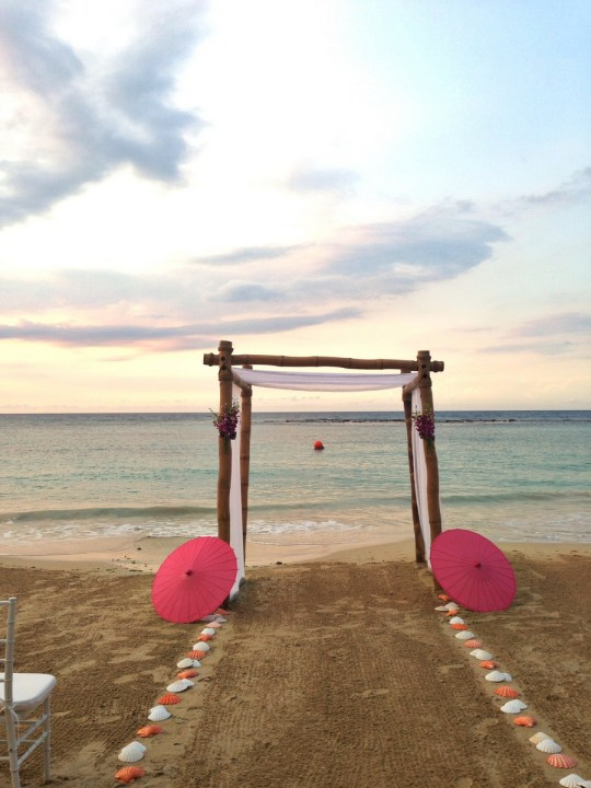 A Honeymoon in Jamaica | Sandals Resort on Oh Lovely Day
