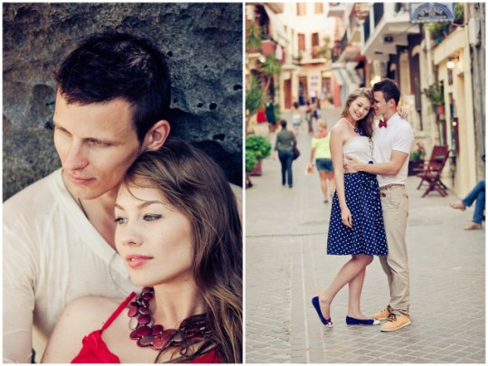 Engagement session in Greece | Vangelis Photography on Oh Lovely Day