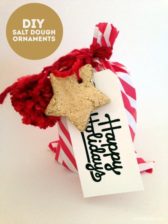 salt dough ornaments   Oh Lovely Day