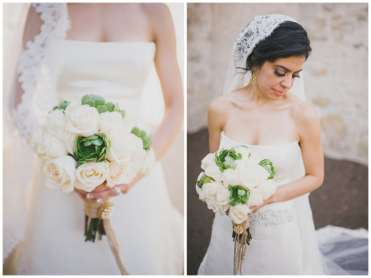 The Comeback of the Classic Wedding: Classic Bridal Look and White Florals | Heidi Ryder Photography on Oh Lovely Day