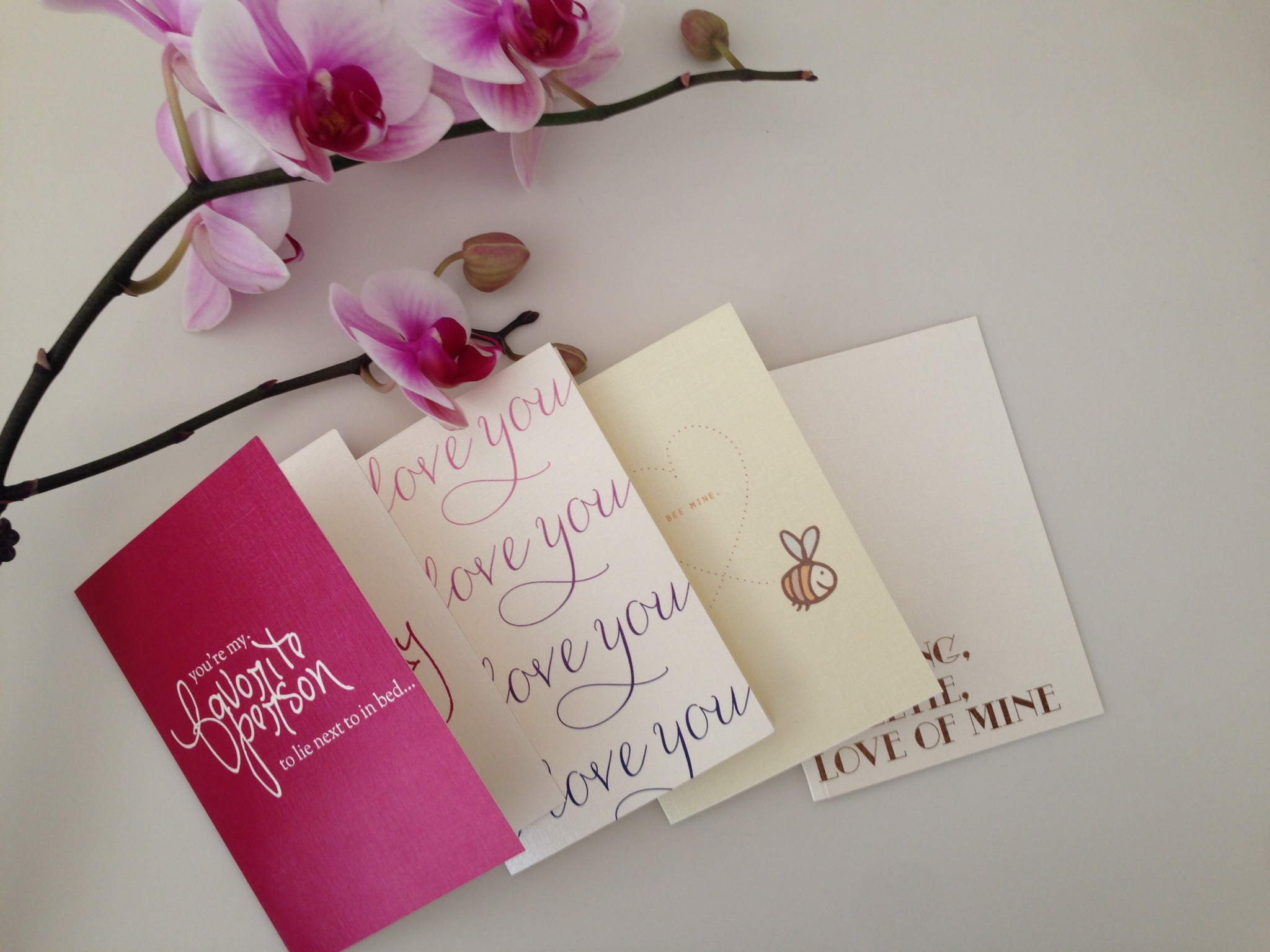 Free Valentine's Day Card Printables | KM Paperie on Oh Lovely Day