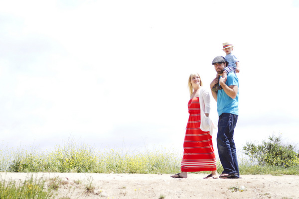 Spring Family Photoshoot | Oh Lovely Day | Photos by Jennifer Roper