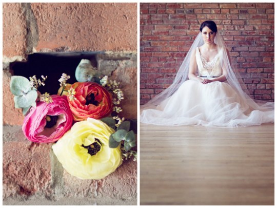 Industrial Glam Wedding Inspiration   Query Events + Whitley Danielle Photography