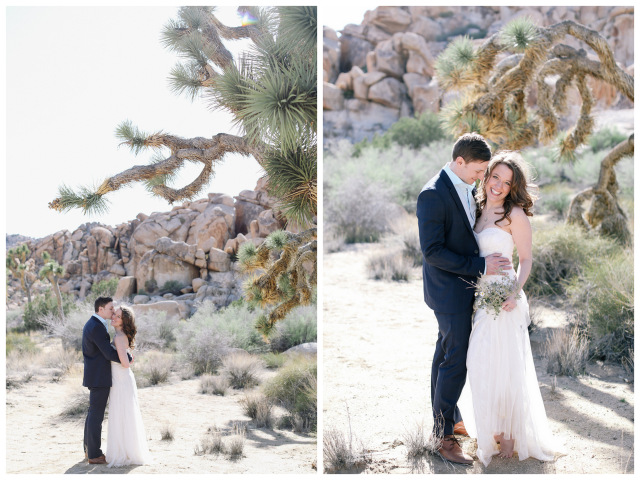 Joshua Tree Engagement | Allie Lindsey Photography on Oh Lovely Day