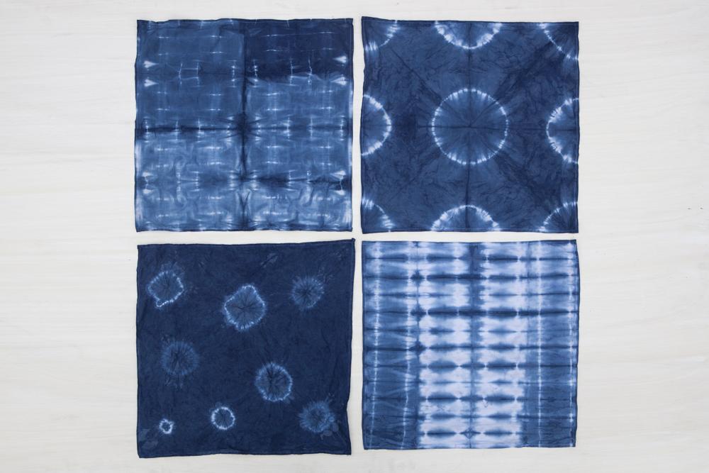 DIY indigo dyed bedding | Jesi Haack Desing for Oh Lovely Day