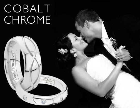 cobalt chrome wedding bands from Tungsten World | Oh Lovely Day