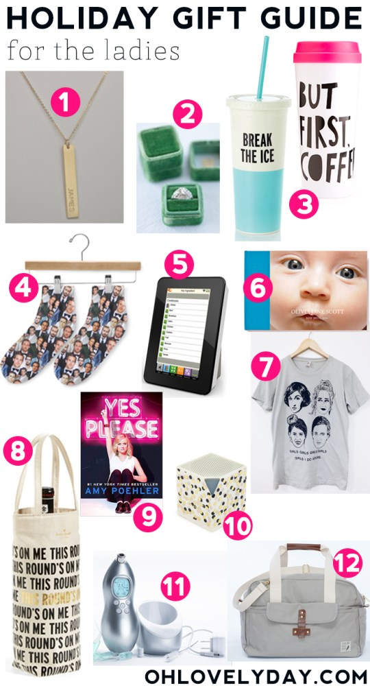 Holiday gift guide for ladies 2014 | Oh Lovely Day