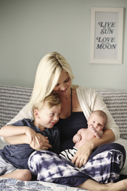 Adjusting to life as a mom of two | Oh Lovely Day | photo by Jennifer Roper