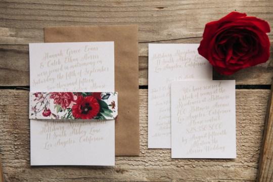Basic Invite Wedding Stationery   Oh Lovely Day