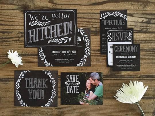 Basic Invite Wedding Stationery | Oh Lovely Day