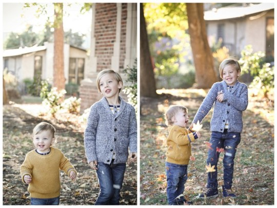 Oh Lovely Day fall family photos | Jennifer Roper Photography